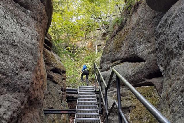 Deutschland - auf spannenden Pfaden durch die Felsenwelt