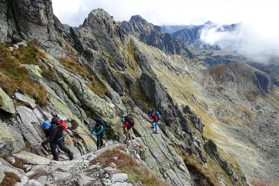 Polen - Die kleine Überschreitung der Hohen Tatra, Hütten-Trekkingtour