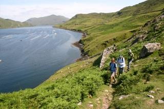Irland - Wandern ohne Gepäck - Connemara und der Westen Irlands