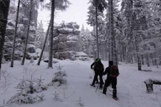 Schneeschuhwandern im Zittauer Gebirge