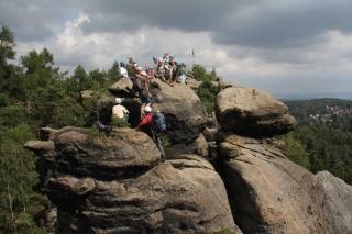 Schnupperklettern im Naturpark Zittauer Gebirge