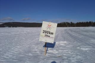Nordenskiöldsloppet in Schweden - der längste Skimarathon der Welt