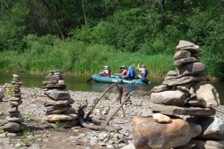 Tschechien - mit dem Boot auf den Spuren der Holzflößer