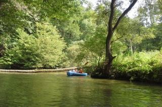 Tschechien - mit dem Boot durch wilde Natur