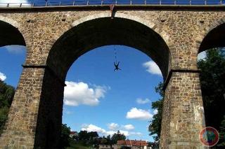 Der Brückenswing in der Oberlausitz