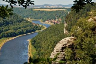 Stiegenwanderung in der Sächsische Schweiz
